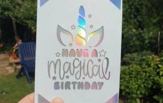 Cricut Joy: Schnelle Karte plotten mit der Karten-Matte