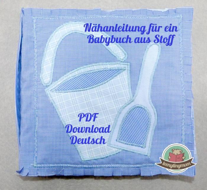 Quiet book Babybuch MARITIM4