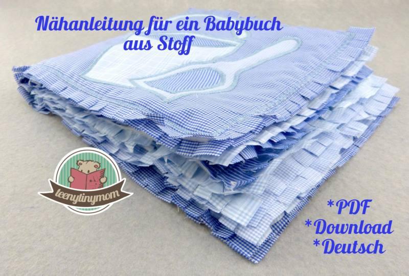 Quiet book Babybuch MARITIM6