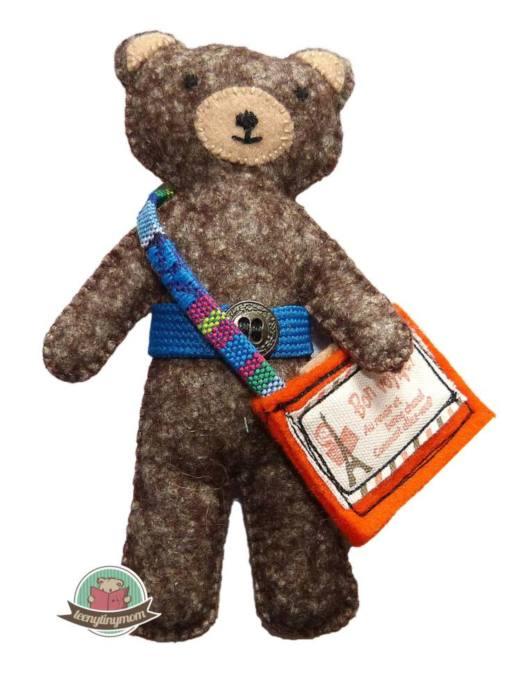 Quiet book naehen Teddy Flugzeug 3