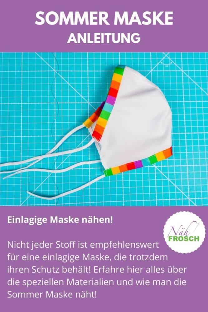 Sommer-Maske-naehen