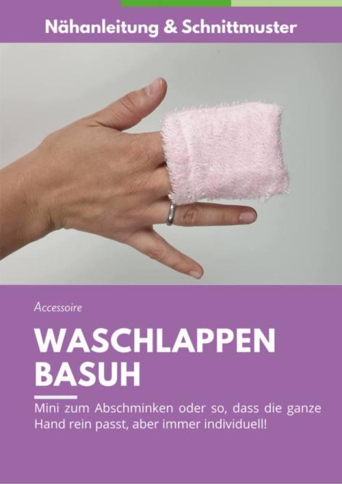 Waschlappen naehen BASUH Cover
