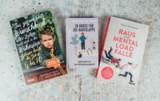 Bücher für Eltern und Mütter: Über Wackelzahn-Pupertät, Mental-Load und Eltern-Whatsapp-Gruppen