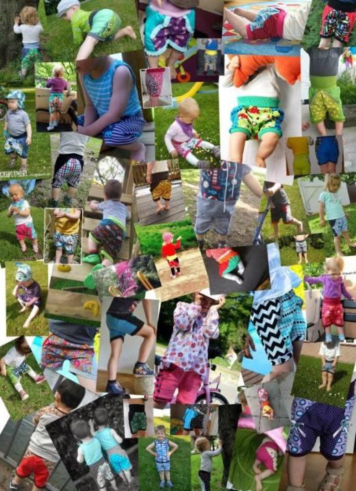 Collage MiniBix Tragefotos