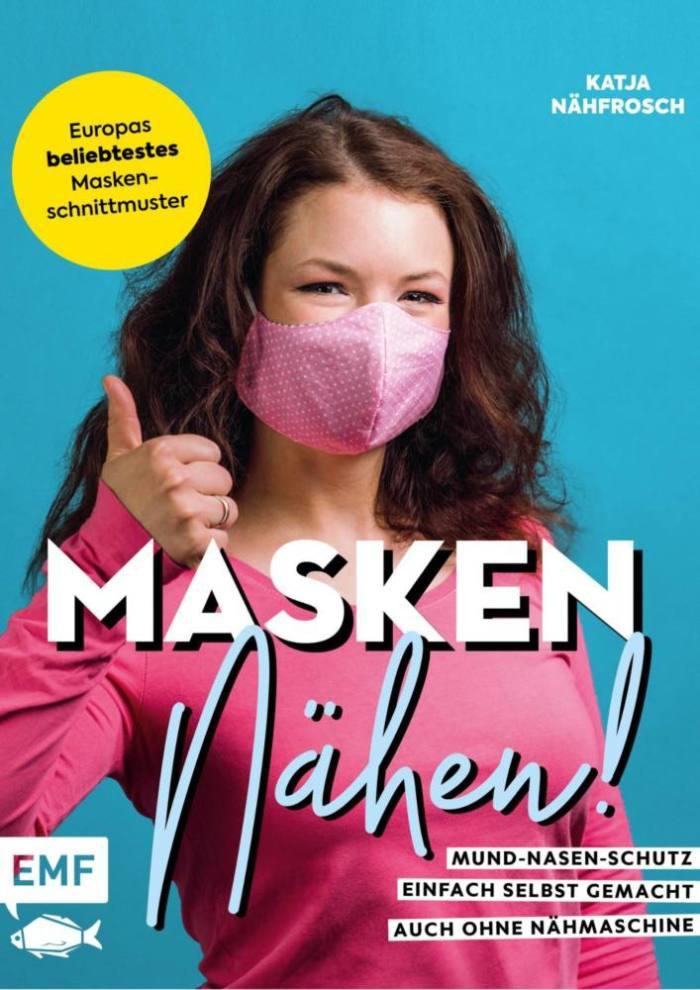Cover Buch Masken naehen