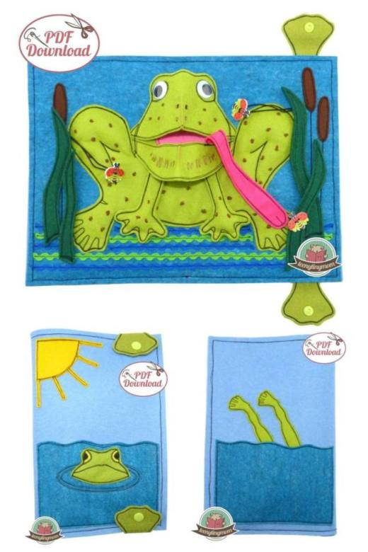 Cover Pop Up Frosch