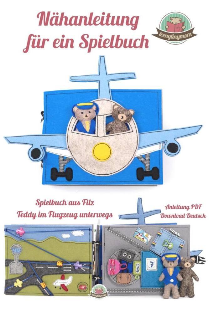 Cover Teddy Flugzeug 10 Seiten