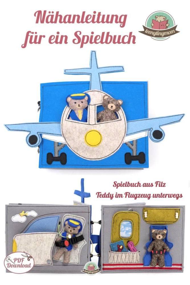Cover Teddy Flugzeug 4 Seiten (2)