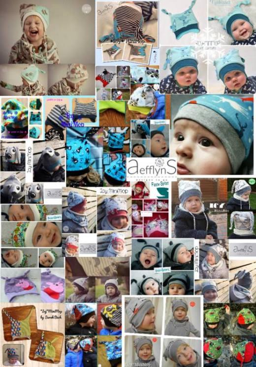 Kinder Muetze naehen Icy MiniMop 1