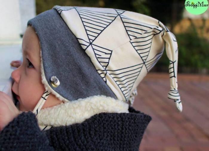 Kinder Muetze naehen Icy MiniMop 2