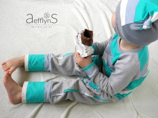 Kinder Muetze naehen Icy MiniMop 3