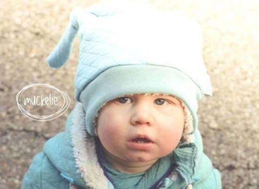 Kinder Muetze naehen Icy MiniMop 4