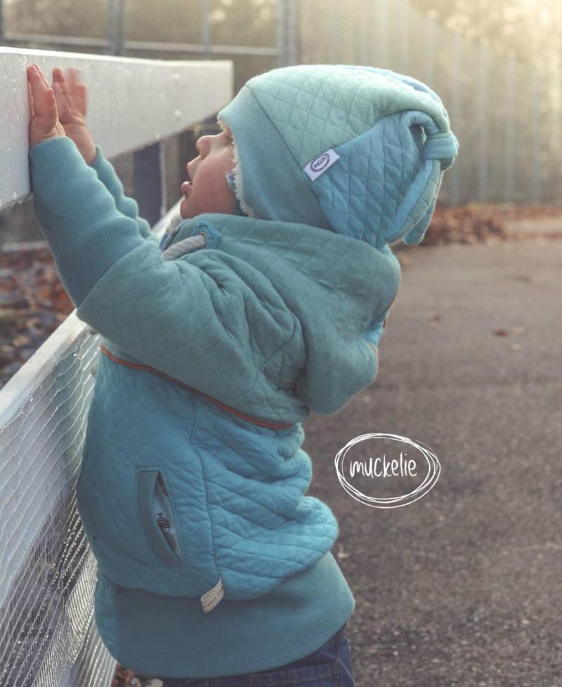 Kinder Muetze naehen Icy MiniMop