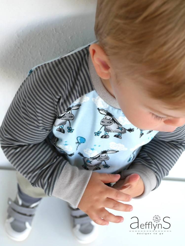 Kinder Pulli naehen MiniMars 00013