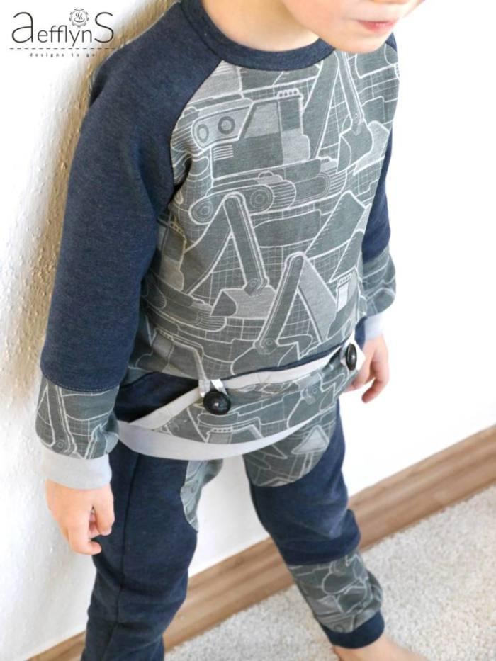 Kinder Pulli naehen MiniMars 00021