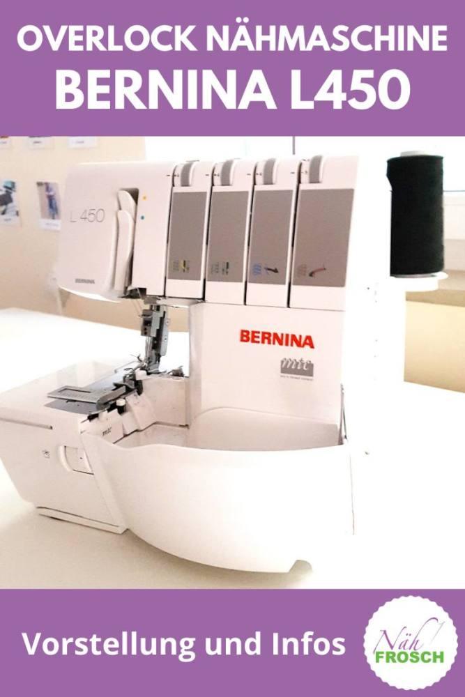 Overlock Bernina L450