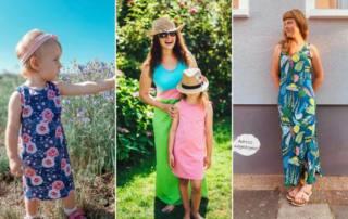 Ärmelloses Top und Kleid nähen: Einfaches Schnittmuster KETIKA