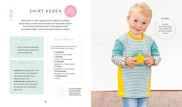 Einfach nachhaltig nähen – Babys & Kids
