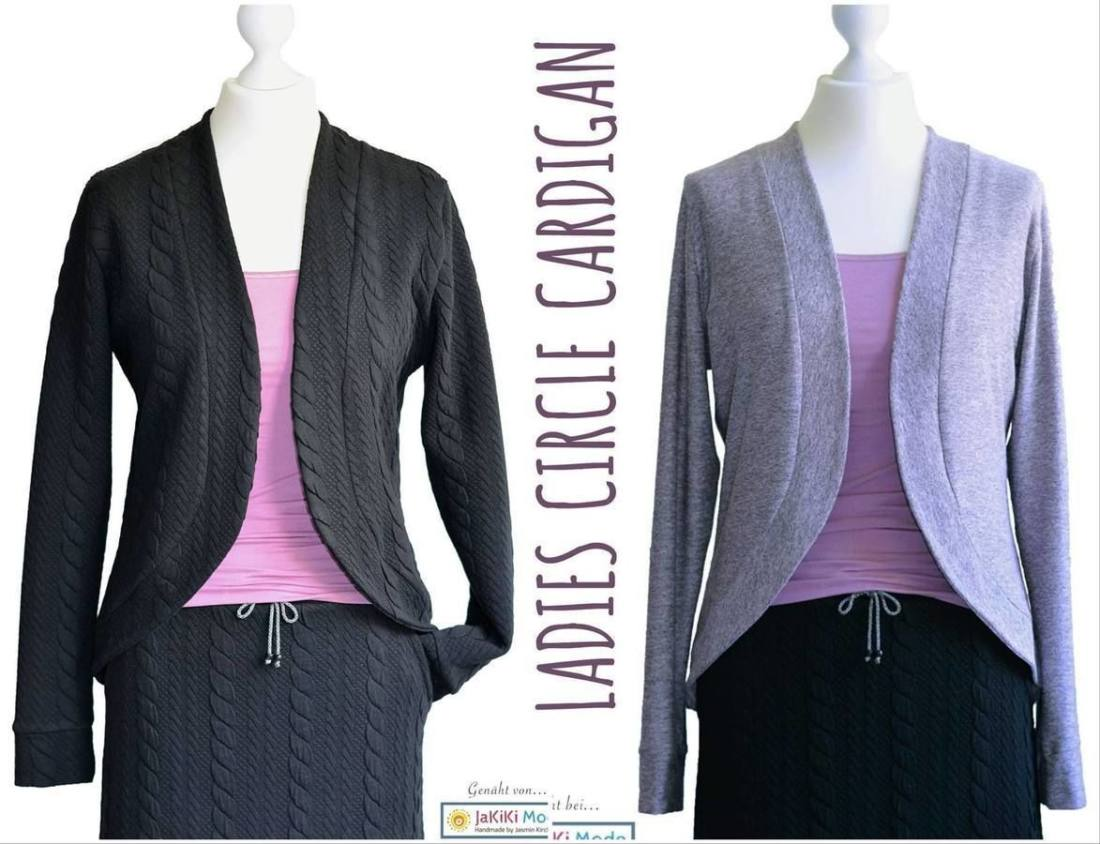 Cardigan naehen fuer Damen CIRCLE Kids 4