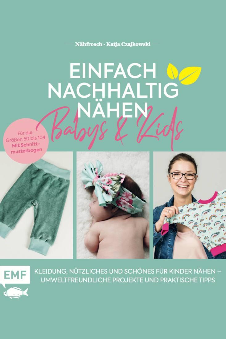 Cover EMF Buch Einfach haltig naehen Babys Kids