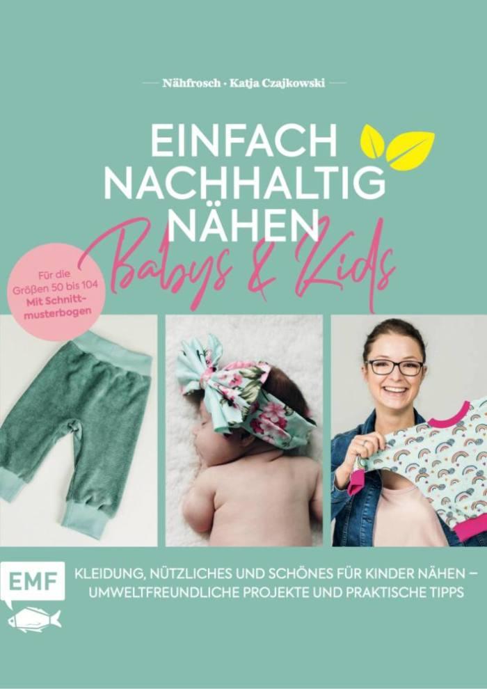 Cover EMF Buch Kinder nachhaltig naehen