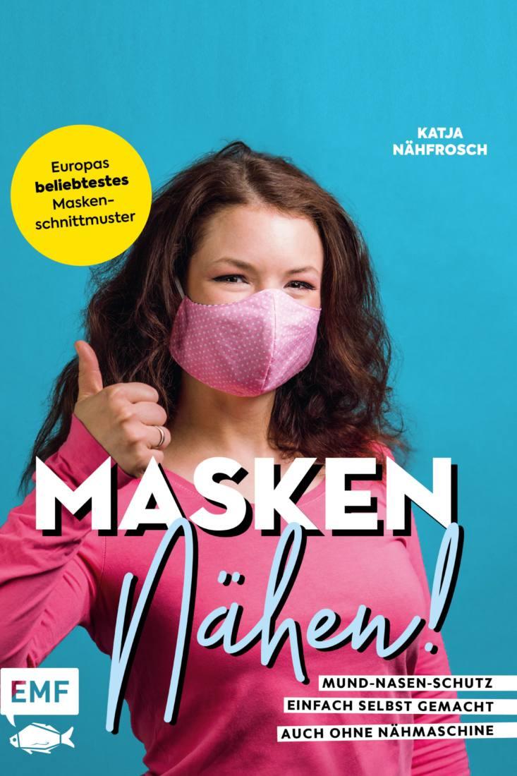 Cover EMF Maskenbuche Masken naehen