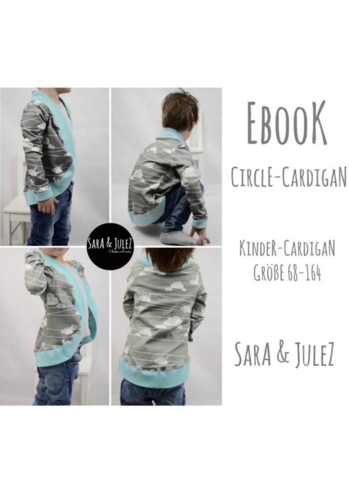Cover Sara Julez Cardigan CIRCLE Kids