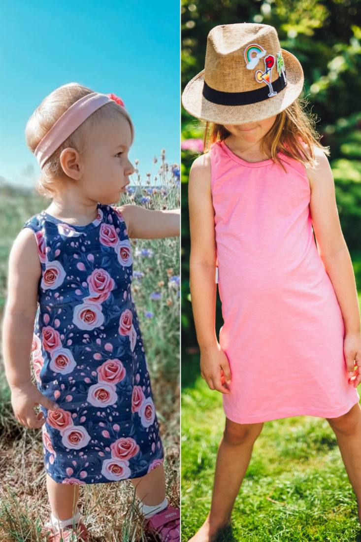 Cover Top und Kleid KETIKA KIDS
