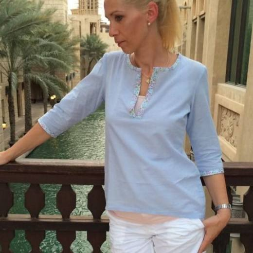 Damen Bluse LANEA naehen Sara Julez 1