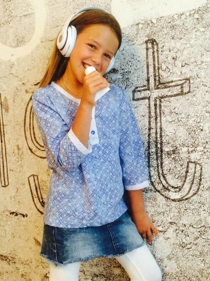 Kinder Bluse MINI LANEA naehen Sara Julez 3