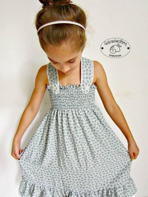 Kinder Sommerkleid LEXXI Damen naehen Sara Julez 2