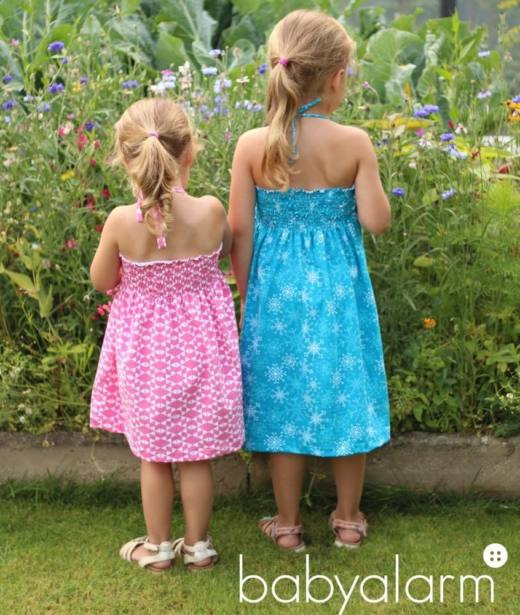 Kinder Sommerkleid LEXXI Damen naehen Sara Julez 3
