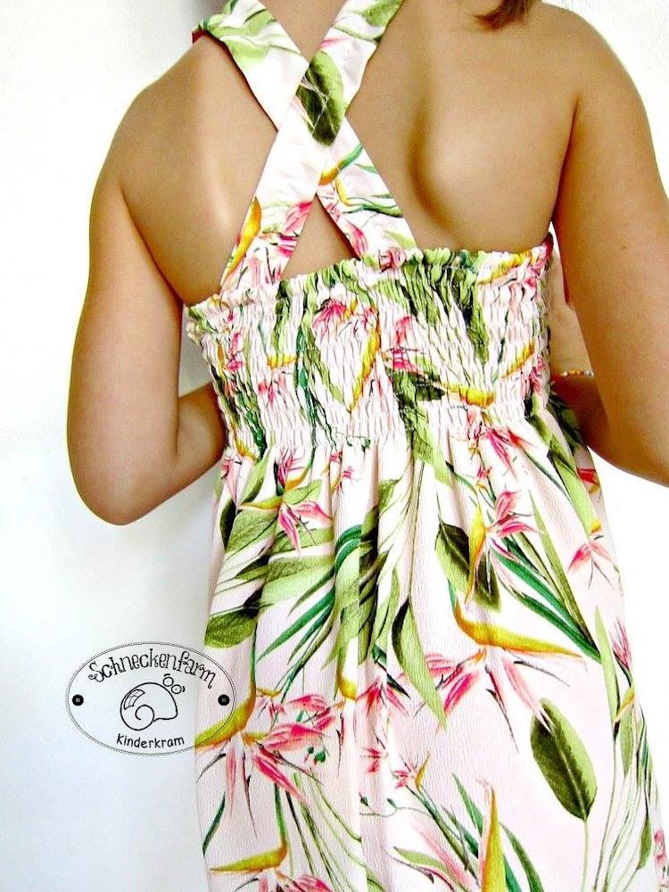 Kinder Sommerkleid LEXXI Damen naehen Sara Julez 5