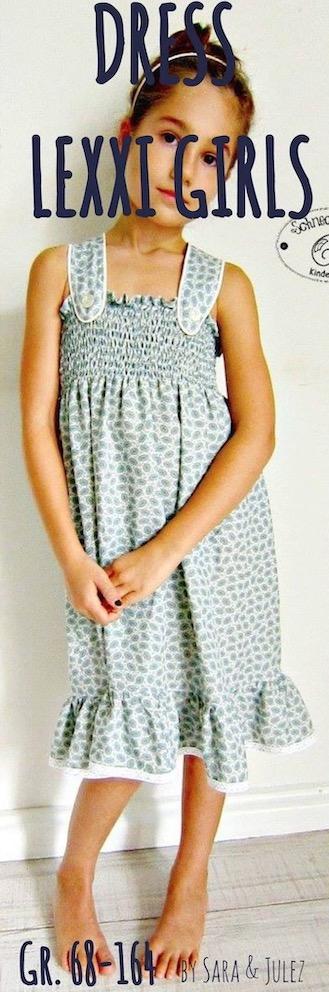 Kinder Sommerkleid LEXXI Damen naehen Sara Julez 7 Kopie