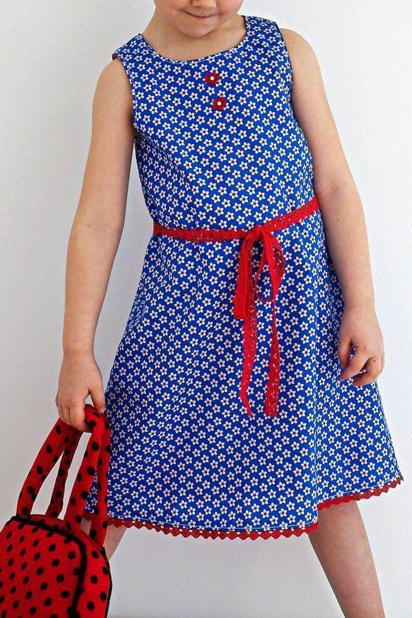 Kinderkleid GRACIE naehen Sara Julez 5