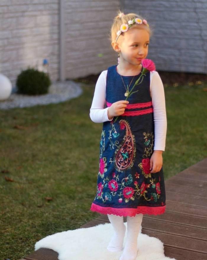 Kinderkleid GRACIE naehen Sara Julez 6