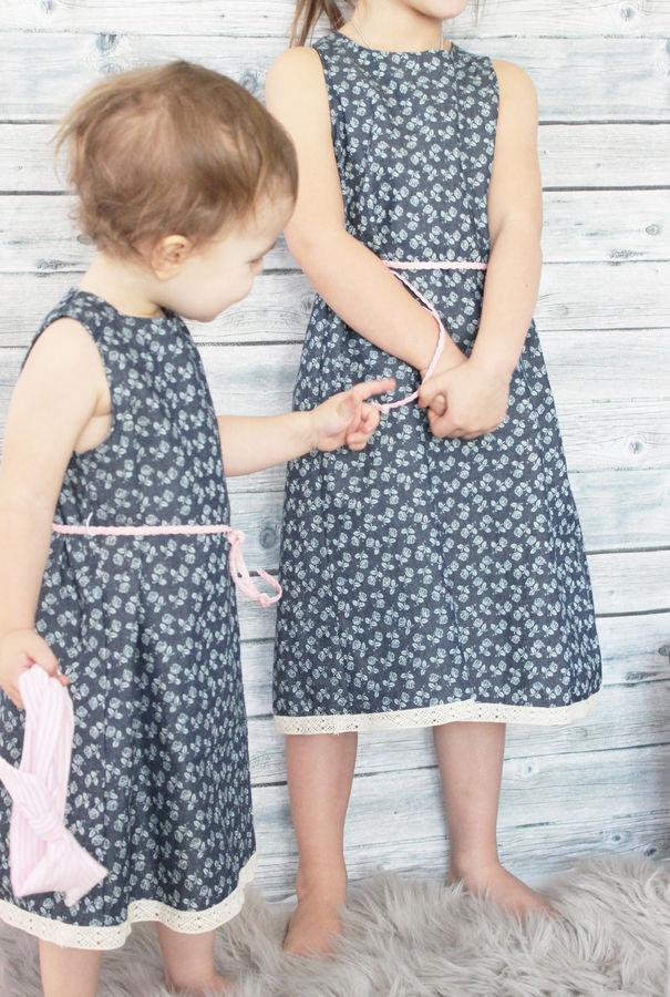 Kinderkleid GRACIE naehen Sara Julez 7