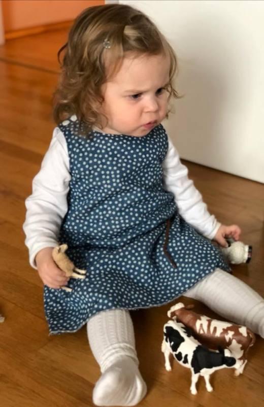 Kinderkleid GRACIE naehen Sara Julez 8
