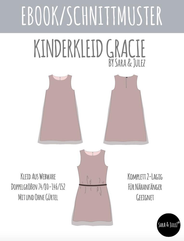 Kinderkleid GRACIE naehen Sara Julez 9