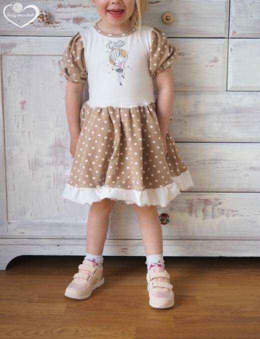 Kinderkleid LOLA naehen Sara Julez 1