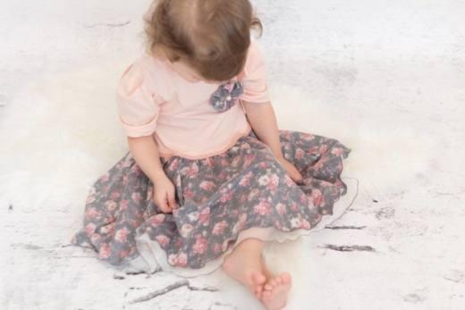 Kinderkleid LOLA naehen Sara Julez 2
