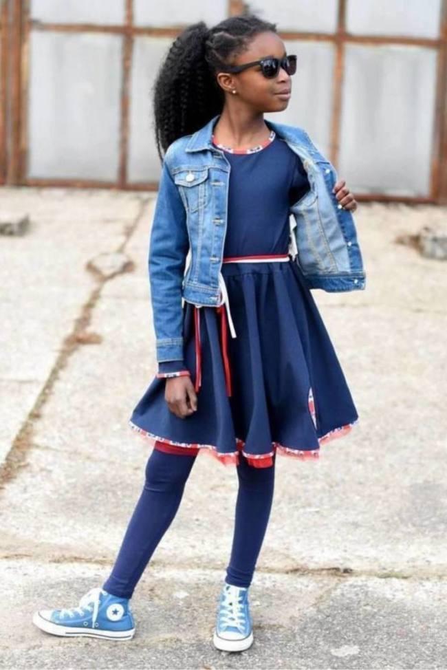 Kinderkleid Tuellkleid LOLA Cover Sara Julez