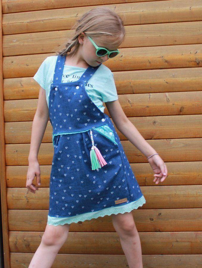 Latz Kleid LATZZY DRESS naehen Sara Julez 3