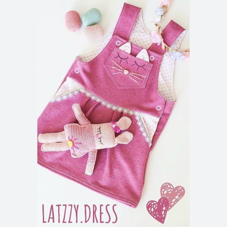 Latz Kleid LATZZY DRESS naehen Sara Julez 7