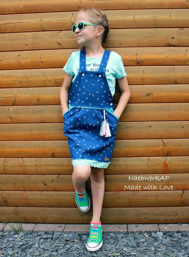 Latz Rock LATZZY DRESS naehen Sara Julez 1