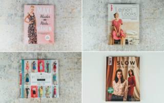 Nähbücher Rezension: Maxikleider, Leinen Looks , Slow Fashion und Kleiderbaukasten