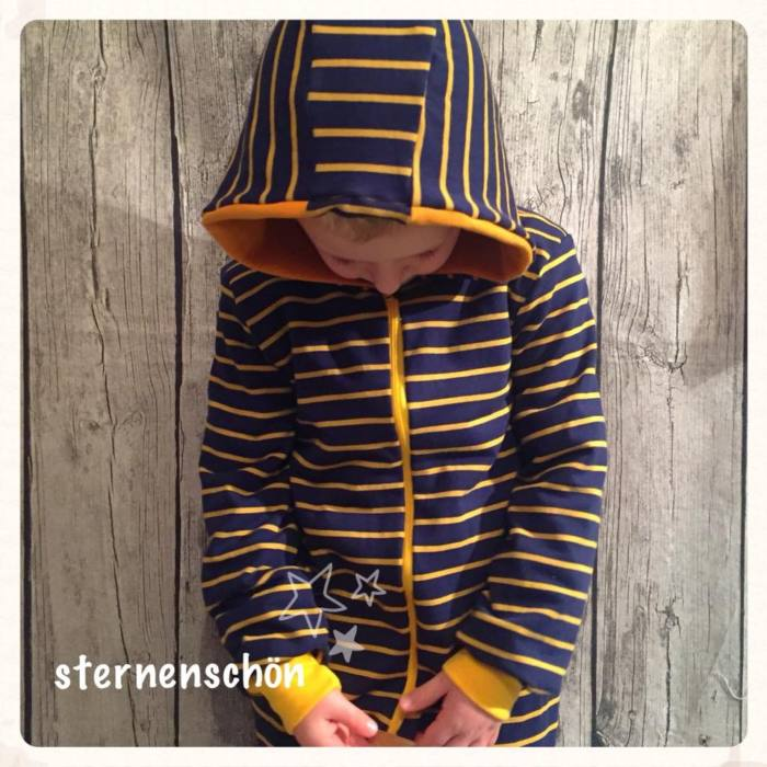 Overall naehen Romper CHARLIE 4