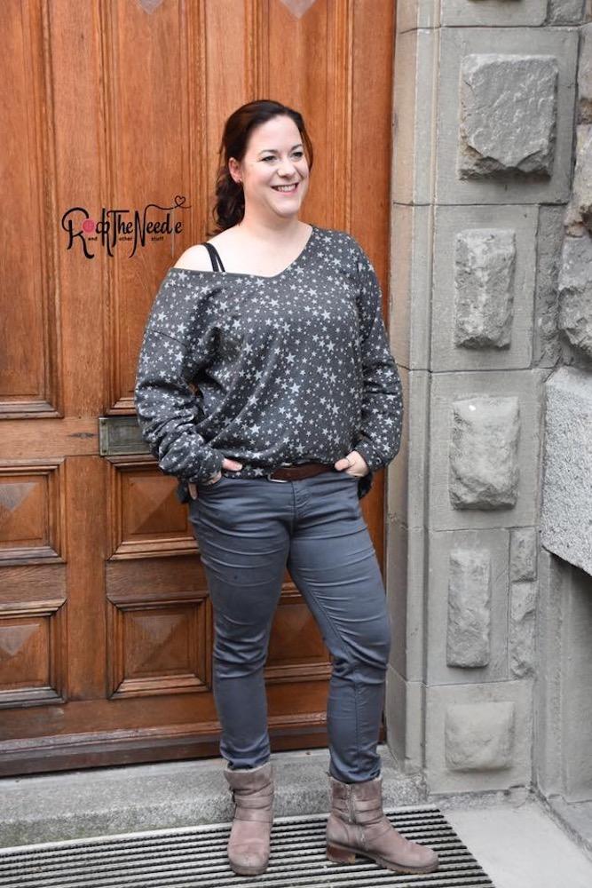Oversiez Pullover KAENA naehen Sara Julez 5