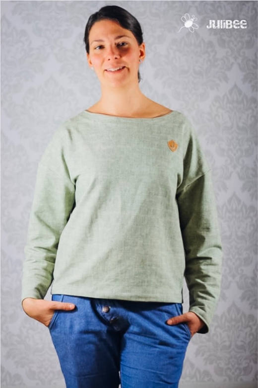 Oversize Damen Shirt MAREN naehen Sara Julez 2 CR