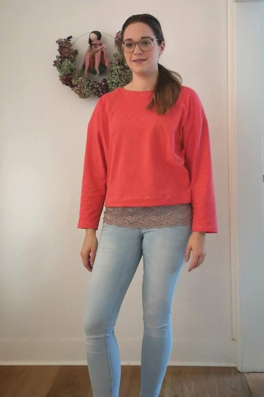 Oversize Damen Shirt MAREN naehen Sara Julez 4 CR